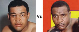 Joe Louis vs Sonny Liston
